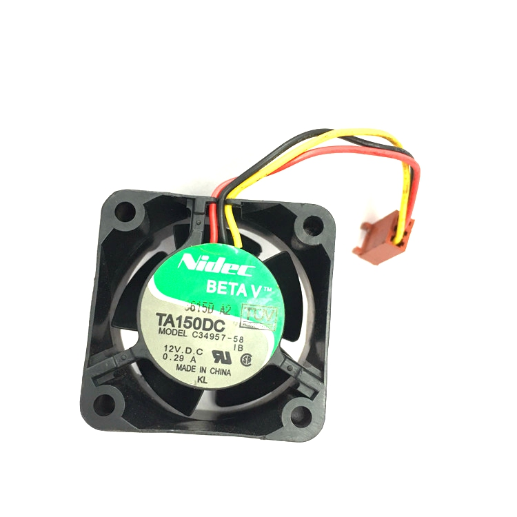 Free Shipping Wholesale Nidec TA150DC C34957-58 12V 0.29A 4028 40mm 4cm server switch fan