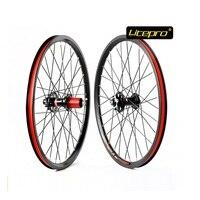 Bicycle wheel set Litepro K fun 20Inch 32H 406 Disc Brake wheels MTB Folding Bike Refiting Cycling Accessory