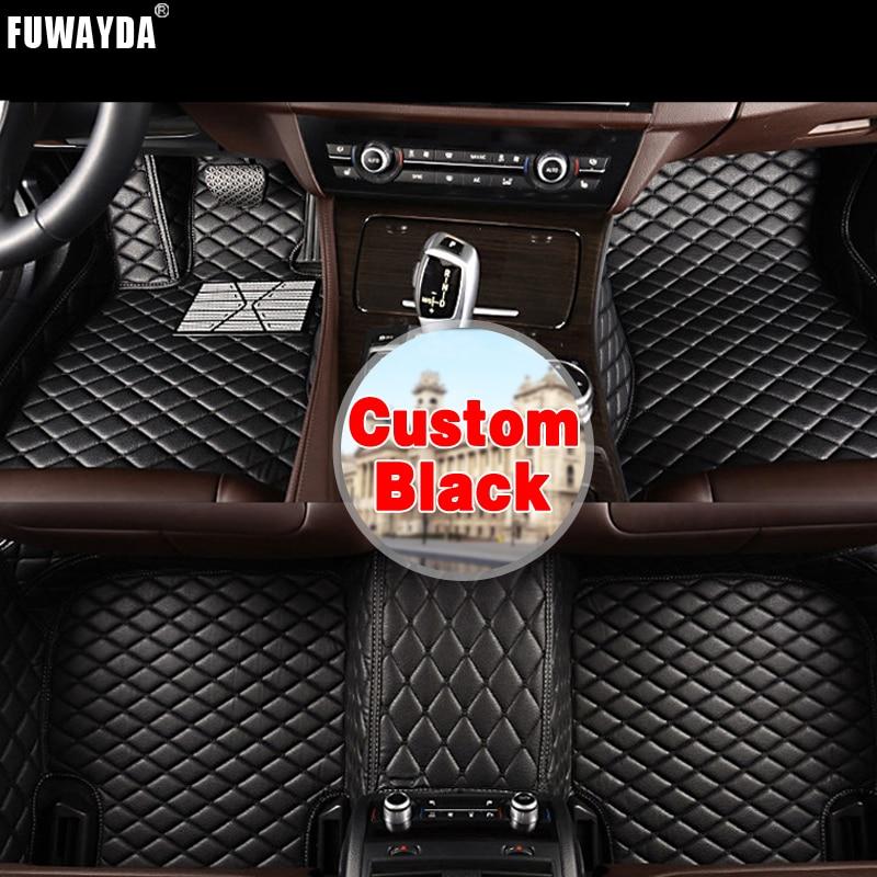 FUWAYDA Custom fit car floor mats made for Hyundai Creta IX25 2014 2015 2016 2017 waterproof 3D car styling leatherGood quality