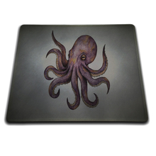 Octopus Tentacles Artwork Mouse Mats Laptop Laptop computer Notbook 18*22cm and 25*29cm and Lock Edge and No Lock Edge Mouse Pad