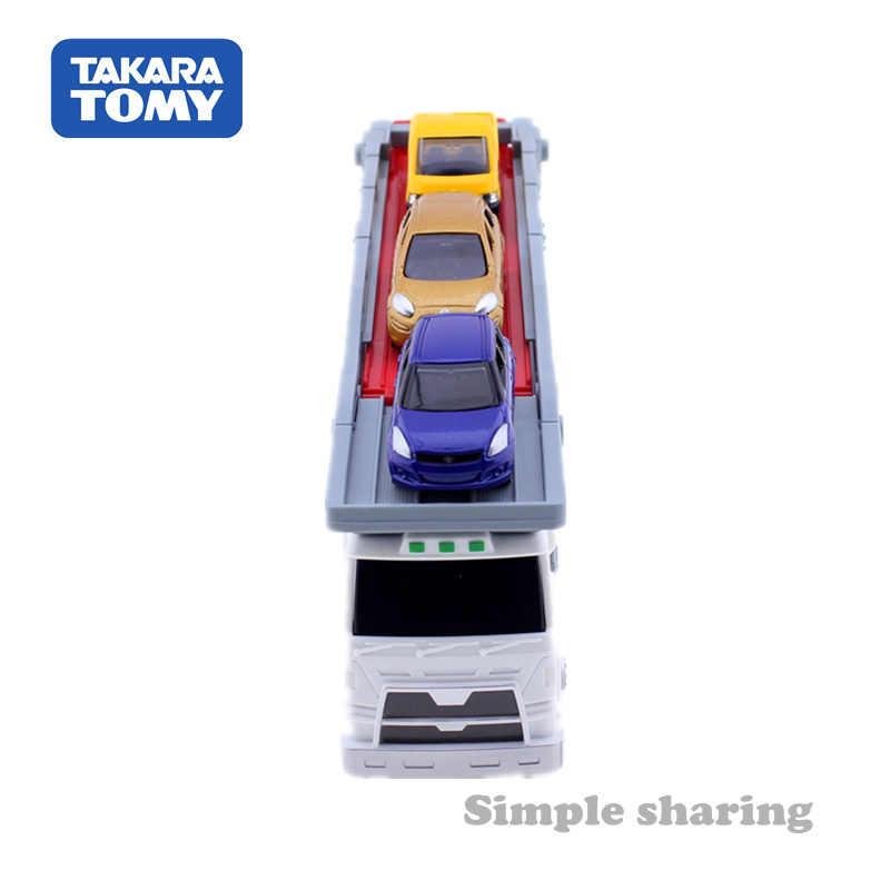 TAKARA TOMY Tomica Truk Model Kit Diecast Diecast Miniatur Bayi Mainan Mobil Hot Pop Anak-anak Perhiasan Lucu Sihir Anak Boneka