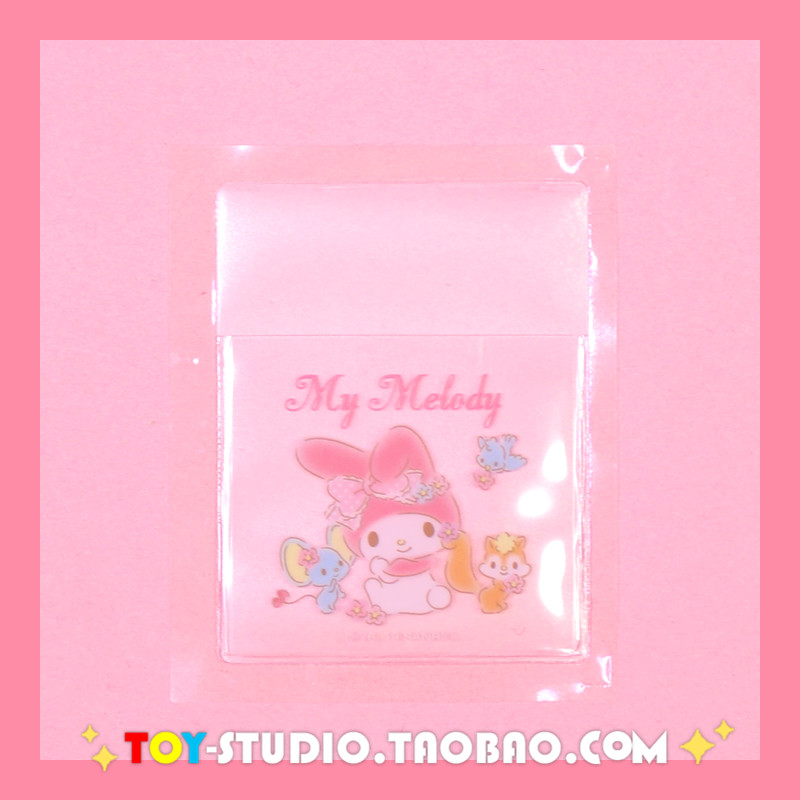 5pcs/pack Cinnamoroll Twin Stars My Melody Pocket PVC Sticker Decoration Planner Diary Phone Album Index Stickers