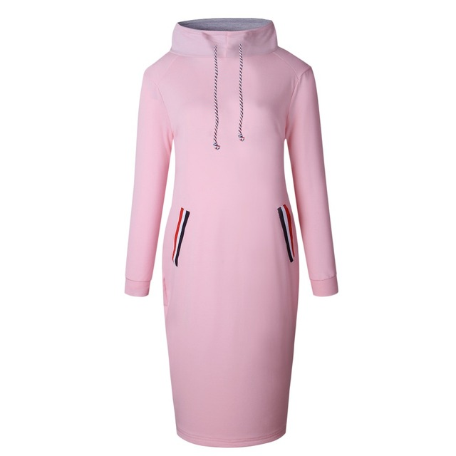 Autumn Winter Long Sleeve Casual Party Dress 4