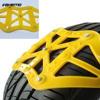 Vehemo TPU Snow Chain Anti Skid Chains Easy Installation Snow Tire Belt Durable Universal Accessories