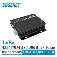 SX1262 SX1268 E90 DTU 400SL30 LoRa Relay 30dBm RS232 RS485 433MHz 470MHz Modbus Receiver LBT RSSI Wireless RF Transceiver