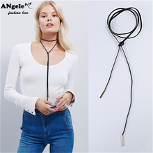 Bohemia Vintage Velvet Choker Necklaces Fashion Harajuku Black Long Necklaces For Women Jewelry collier kolye bijoux