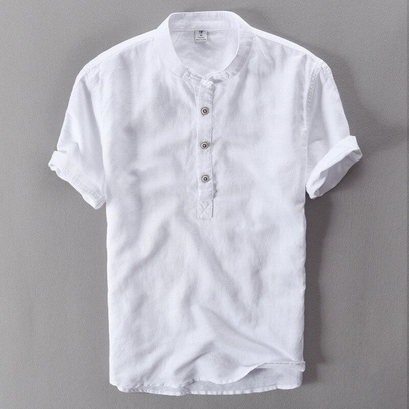 Summer Men's Short Sleeved  Shirts Breathes Cool Shirts