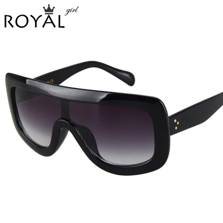 c4531a08170 Aliexpress.com   Buy ROYAL GIRL Brand Designer Oversized Sunglasses Women  Fashion Women Men Sun Glasses ss004 from Reliable mens sun glasses  suppliers on ...