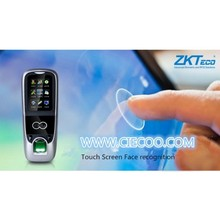 ZK Multibio700 software Facial recognition and fingerprint access control with ID card iface7 with full accessories only for SG