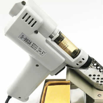 ปืนยิงปืนไฟฟ้าดูดซับปืน S-993A สูญญากาศ Desoldering Pump Solder Sucker Gun 100W