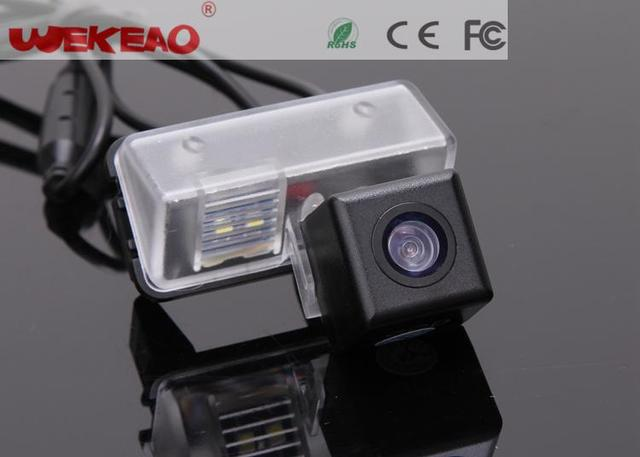 Wekeao Reverse Backup Review Reversing Parking Assistance Kit For Toyota Corolla 2014 Car Rear View Camera With Night Vision CCD