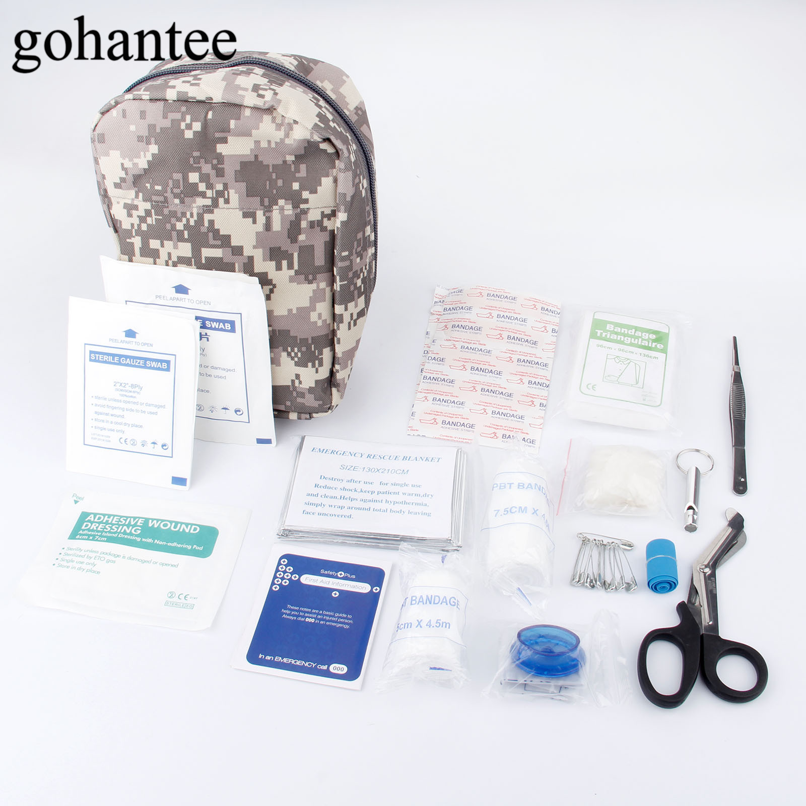 38pcs/Pack (15kinds) Portable First Aid Kit Military First Aid Pouch Outdoor Hiking Travel Home Car Emergency Treatment Pack Bag new fashion waterproof outdoor travel home portable first aid bag carry small medical emergency kit first aid contains 11 kinds