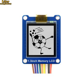 1.3inch 144x168 resolution Black/White Bicolor LCD with Embedded Memory, Low Power, Viewable under Strong Light