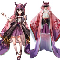 Fate Grand Order Cosplay Assassin Osakabehime Osakabe Hime Cosplay Costume Fancy Dress Gown Adult Girl