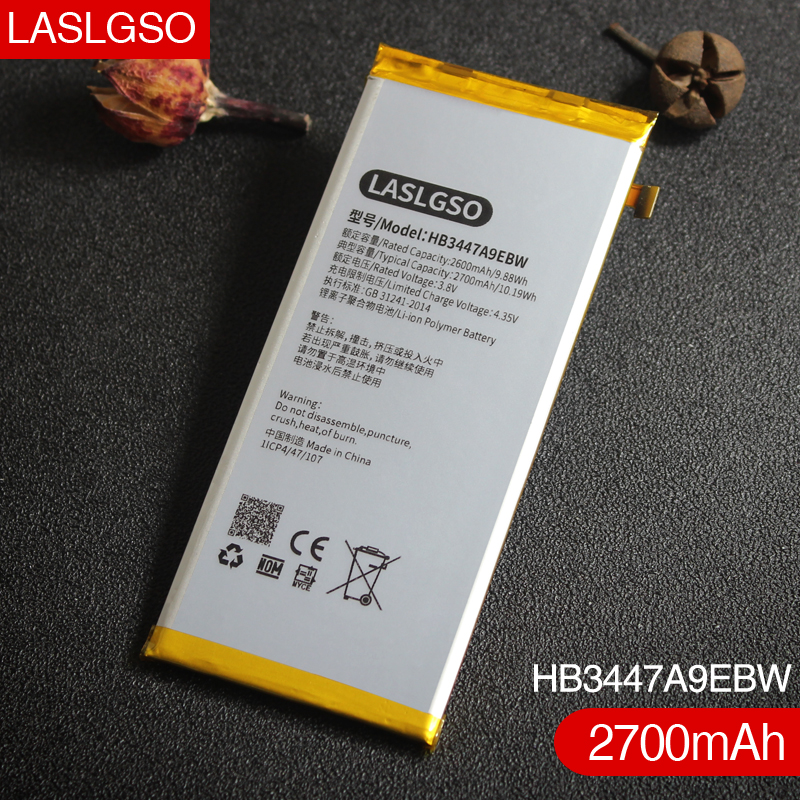 Good-Quality Battery Replacement Huawei For Ascend P8 HB3447A9EBW 100-%