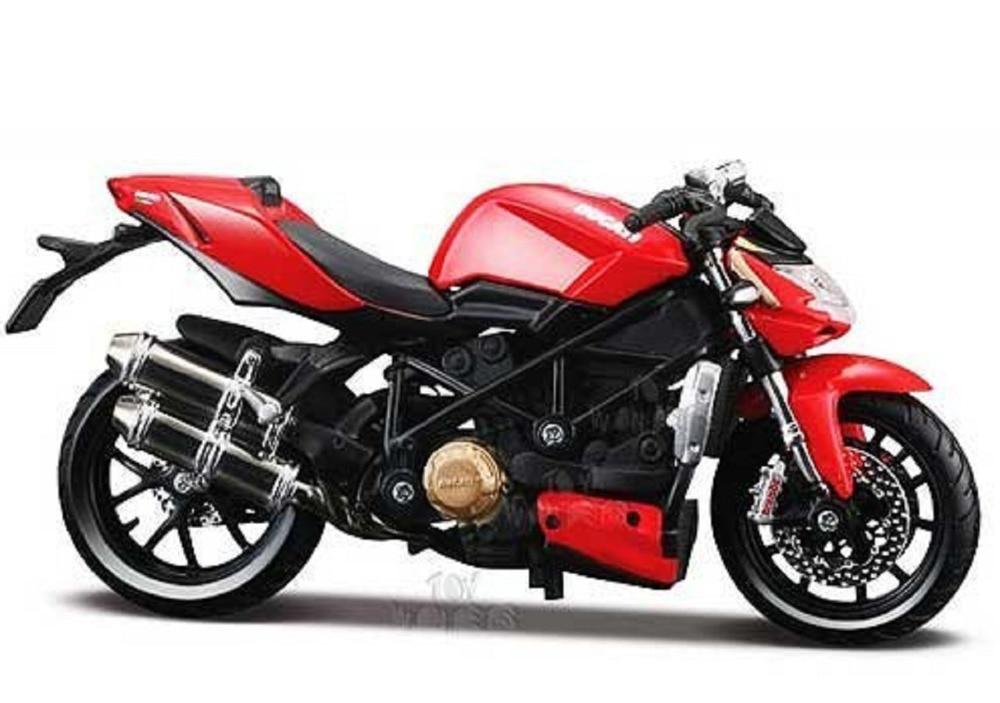 Maisto 1:12 Ducati Mod. Streetfighter S 31197 MOTORCYCLE BIKE Model FREE SHIPPING