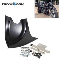 Chin Lower Front Spoiler Air Dam Fairing Cover For Harley Sportster 48 883 1200 2004 2018 V ROD Touring Glide D35