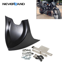 NEVERLAND Chin Lower Front Spoiler Air Dam Fairing Cover For Harley Sportster Dyna Fatboy Softail V ROD Touring Glide D35