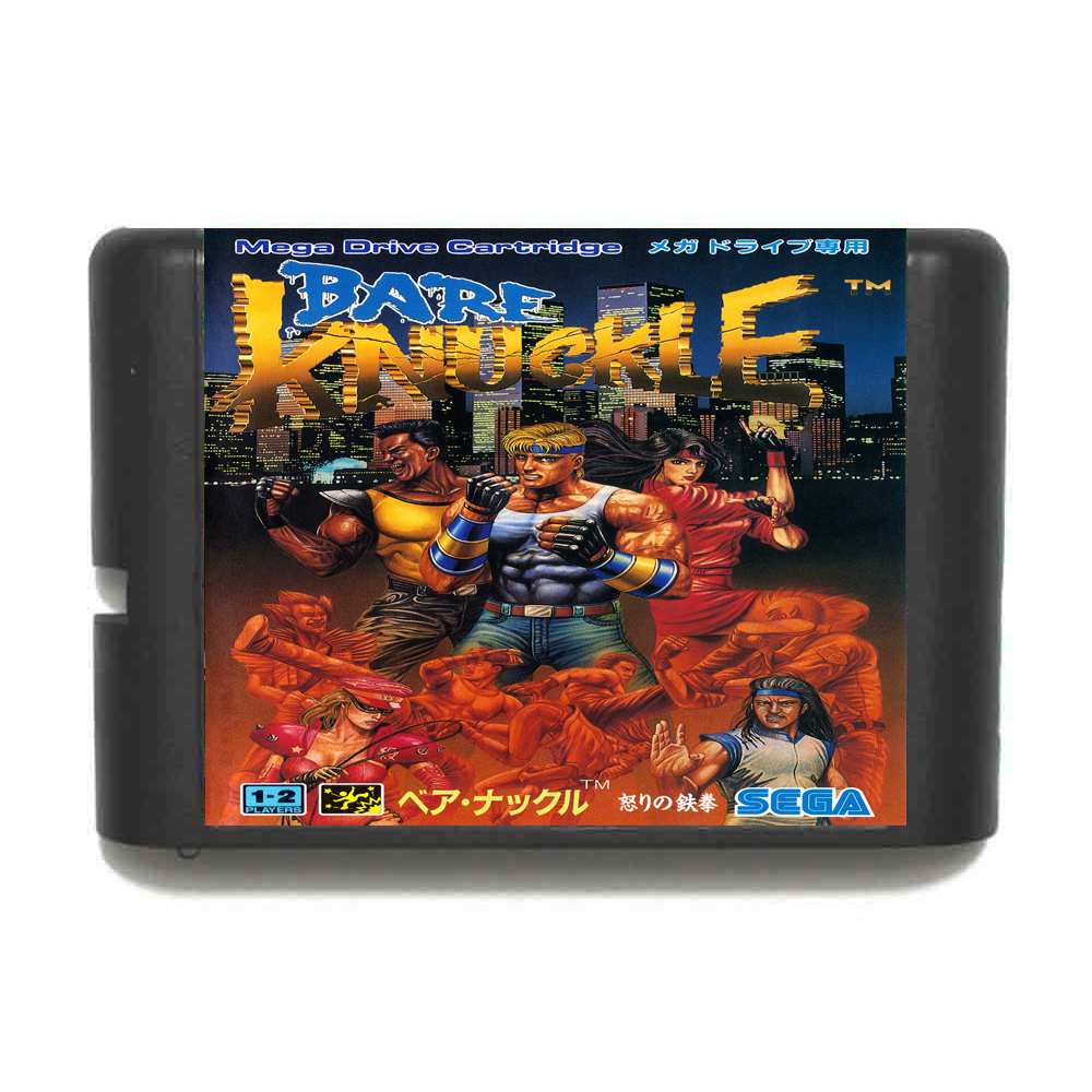 Bare Knuckle Region Free 16 bit MD Game Card For Sega Mega Drive For GenesisBare Knuckle Region Free 16 bit MD Game Card For Sega Mega Drive For Genesis