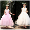 Children clothing 12 years Robe enfant Dresses for babies Retail girl dress party Princess kids Big bowknot summer childrens
