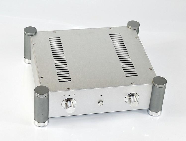 CJ-WA127 Aluminum Audio Amplifier Chassis Tube amp housing /DAC Decoder Case DIY Shell 355*115*315mm fanmusic 6p1 usb decoder tube amplifier