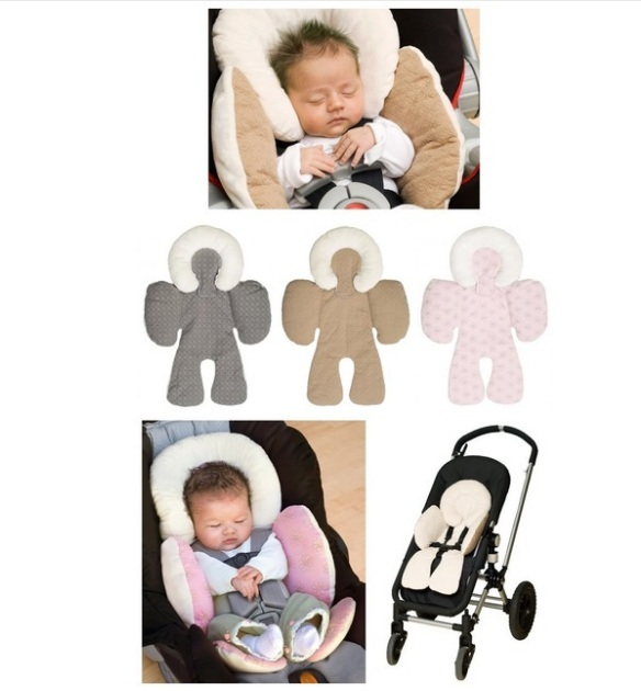 Reversible Baby Strollers Body Support Pad Mat Compliance Fmvss213 Car Seat Stroller Head Cushion