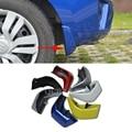 4 pçs/lote estilo do carro mud flaps respingo guarda lamas mudflaps fenders perfector decoração externa para honda fit 2011-2015