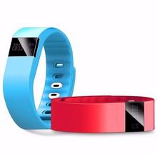 Горячая tw64 фитнес-трекер bluetooth smartband браслет спорта smartband браслет шагомер для iphone ios android