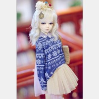Unoa Lusis BJD Dolls 1/4 Lovely Multi Faceplates High Quality Resin Figure Toys For Kids Fairyland