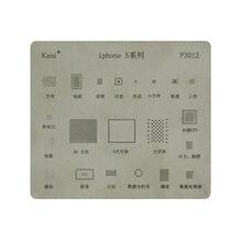 Высокое качество BGA трафарет Комплект для iPhone5 5S 6 6S 7 8 X XS XR XS MAX материнская плата IC чип реболлинга трафареты