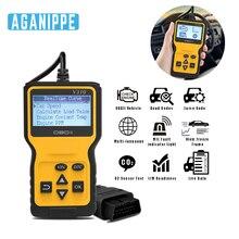 Aganippe V310 автоматический диагностический сканер инструмент OBD2 автомобильный сканер EOBD код ридер для диагностики автомобиля Поддержка всех OBD протоколов