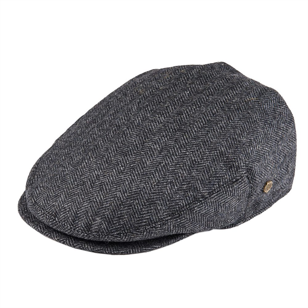 VOBOOM Flat Cap Wool Herringbone Newsboy Caps Tweed Blend Men Women Beret Classic Cabbie Driver Hat Golf Hunting Ivy Hats 200
