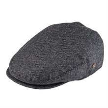 VOBOOM Flat Cap Wool Herringbone Newsboy Caps Tweed Blend Men Women Beret Classi