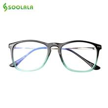 SOOLALA Anti Blue Light Glasses Men Women Gaming Computer Protection Big Blocking Filter Fatigue