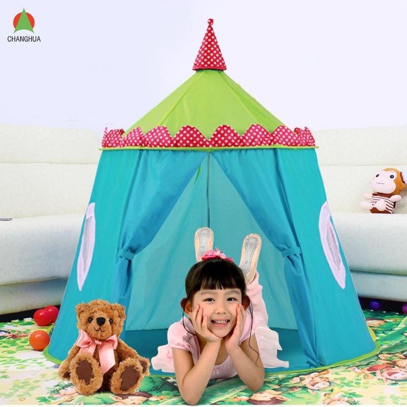 New Design Portable Blue Kids Tents Children Folding Castle Play House Garden Outdoor House Children Kids  sc 1 st  AliExpress.com & Online Get Cheap Blue Kids Tent -Aliexpress.com | Alibaba Group