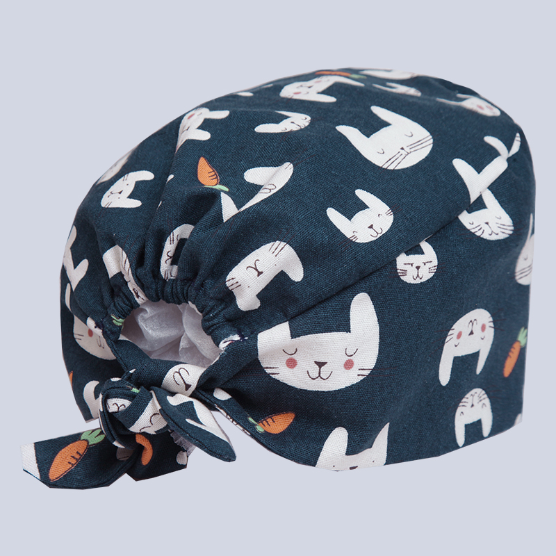 Medical Rabbit Carrot Print Men Womens Medical Cap Clinic Surgical Hospital Doctor Laboratory Pharmacy Beauty Salon Workwear Cotton Hat Back To Search Resultsnovelty & Special Use