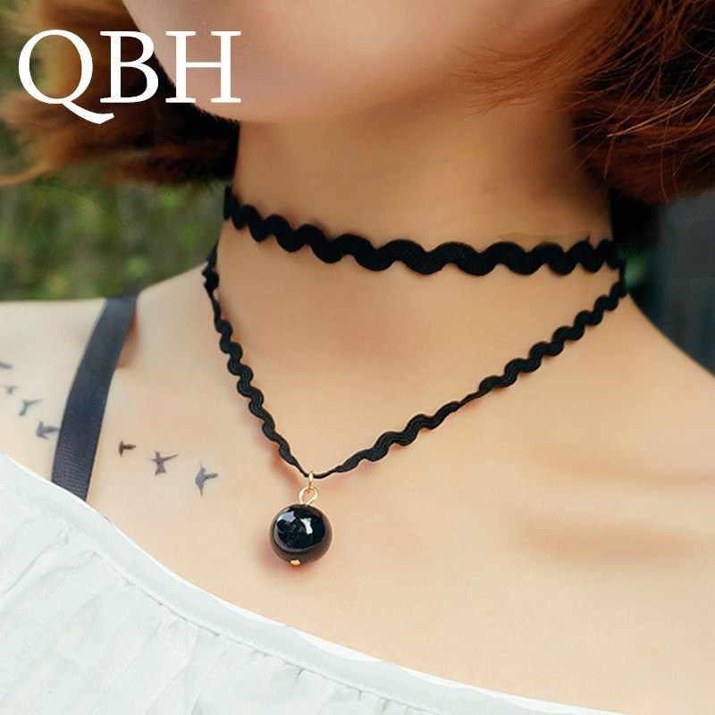 Moda Gothic wielowarstwowe Chokers naszyjnik dla kobiet trójkąt gwiazda koło księżyc Punk naszyjnik Collares biżuteria sięgająca do obojczyka