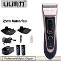 Professiona Hairclipper Titanium Blade Hair Trimmer Electric Hair Clipper Cutting Machine Shearer for Salon 15W Spare battery