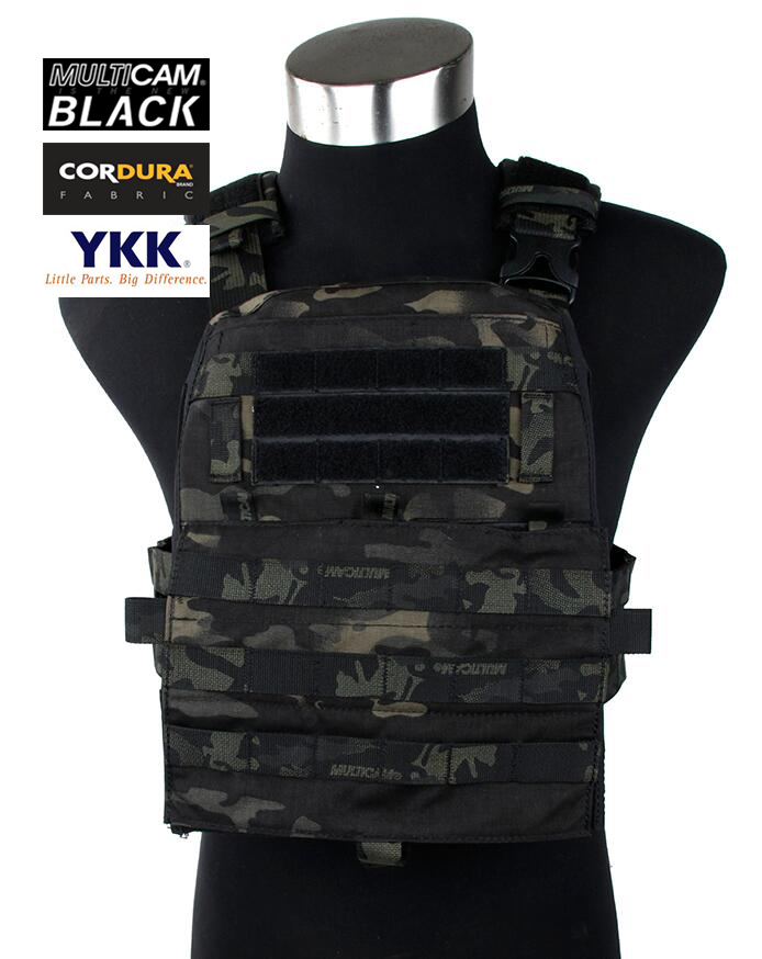 Rasputin 2018Ver. Adaptive AVS Tactical Vest System Multicam Black(SKU051300)