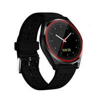 V9 Smart Watch Support SIM Card 2G Camera Sleep Tracker Smartwatch V9 Pedometer MP3 Music Clock Smart Wristwatch for IOS Android