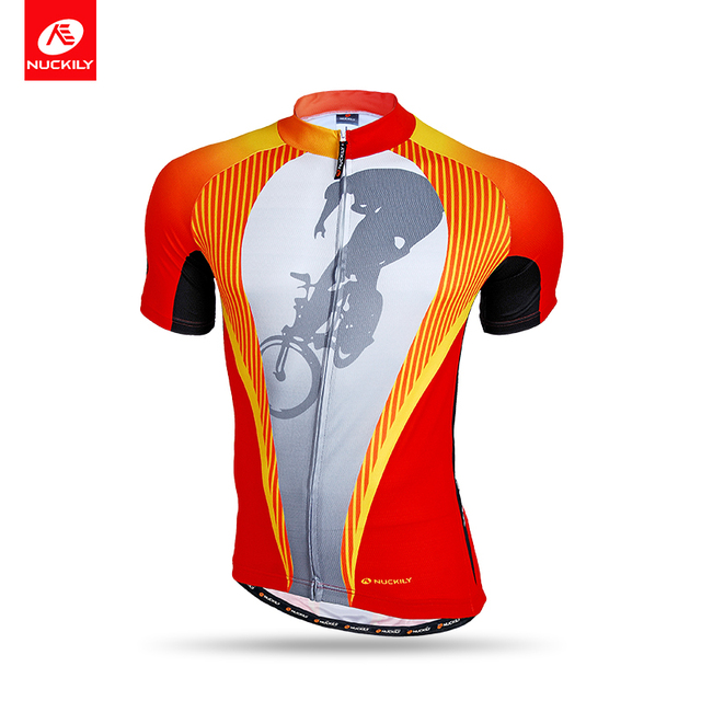 Nuckily summer short sleeve good quality sublimation printed custom cycling  jerseys for men NJ507 fc3310510