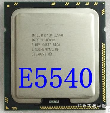Original E5540 processor 2 53GHz LGA1366 8MB Quad Core FSB 1366MHz
