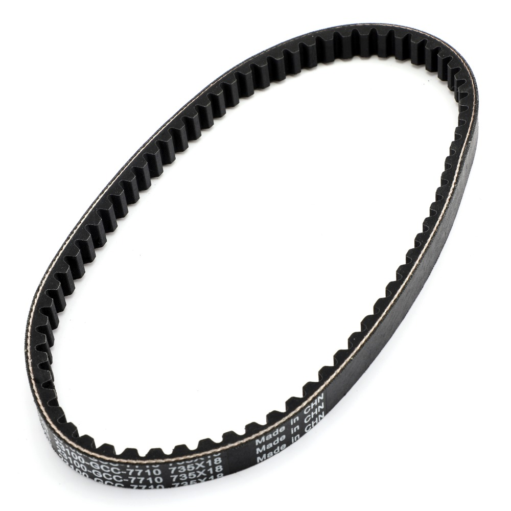Areyourshop Motorcycle Drive Belt 735OC X 18W For Honda SCV 100 Lead JF11 03-07 Scooter 23100-GCC-771 Motorcycle Accessories