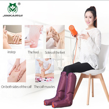 JinKaiRui Sequential Air Compression Leg Massager Blood & Lymphatic Circulation Recovery System Electric Circulation Leg Wraps