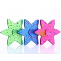 Starry Night Cool Professional Fidget Spinner Triangular Hand Spinner Metal Autism ADHD Children Adults EDC Relieve
