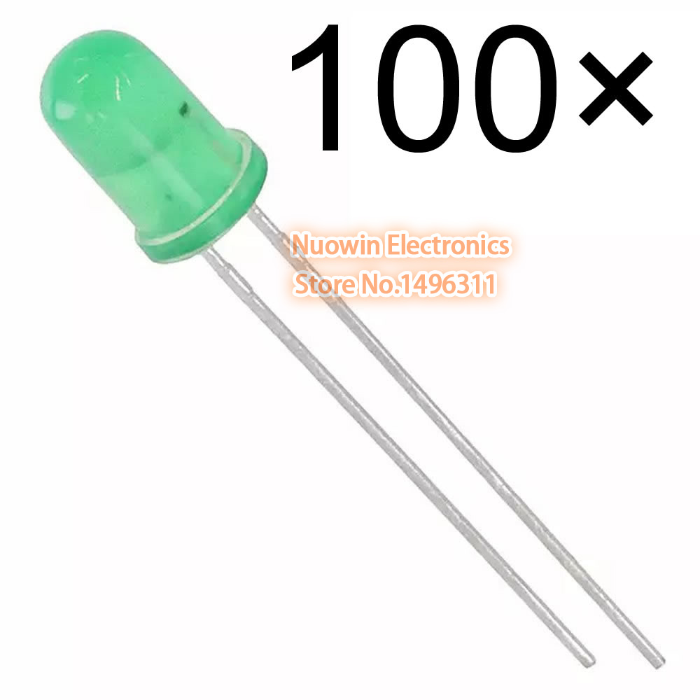 10 WARM WHITE 1.8MM LEDS FOR On30 HEADLIGHTS FREE RESISTORS