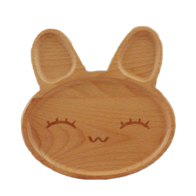 Cartoon Rabbit Face Wood Dinner Plate Wooden Service Plate Kid`s Wood Dining  sc 1 st  AliExpress.com & Cartoon Rabbit Face Wood Dinner Plate Wooden Service Plate Kid`s ...