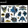 SHNAPIGN Dark Knight Batmen, Детские временные тату, боди-арт, флэш-наклейки для тату, 17*10 см, водонепроницаемые хна тату, Стилизация, наклейка