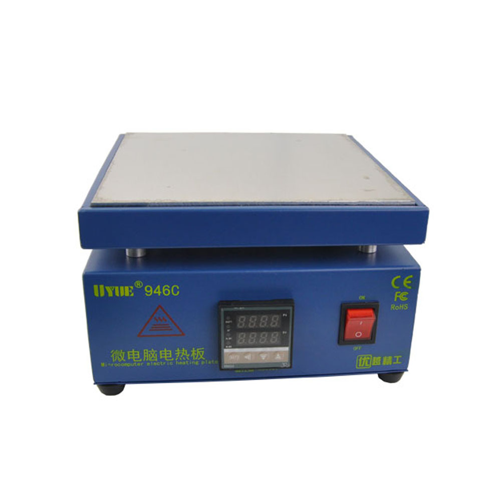 Electronic Plate Preheating Station For PCB SMD BGA Preheater Digital Thermostat Platform Heating Plate Preheating Station Uyue
