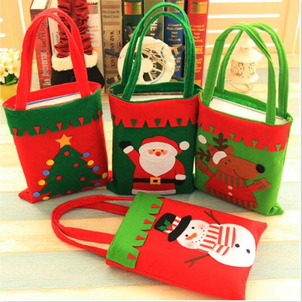 thick handmade christmas decorations christmas gift bag candy favor bags book bags christmas gift bags event party supplies in gift bags wrapping